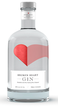 BROKEN HEART Dry Gin, 700 ml