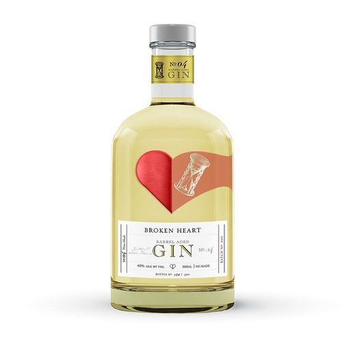 BROKEN HEART Barrel Aged Gin, 500 ml